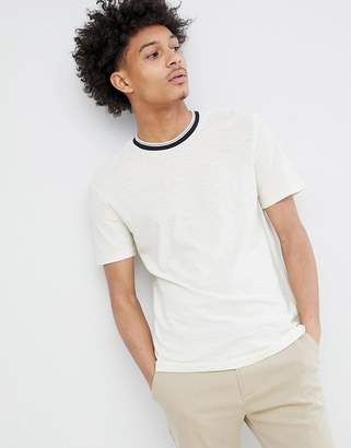 Celio T-Shirt With Contrast Rib