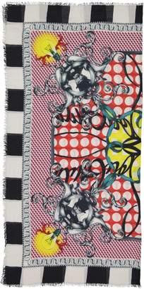 Christian Louboutin Multicolour Cashmere Scarves