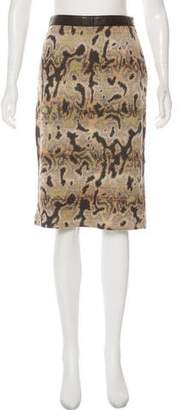 Missoni Knee-Length Knit Skirt