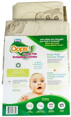 Simmons Oops Organic Mattress Protector Combi-Pak