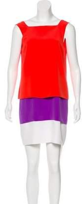 Gucci Colorblock Silk Dress