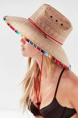Peter Grimm Luz Straw Lifeguard Hat