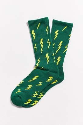 Urban Outfitters Lightning Bolt Sport Sock