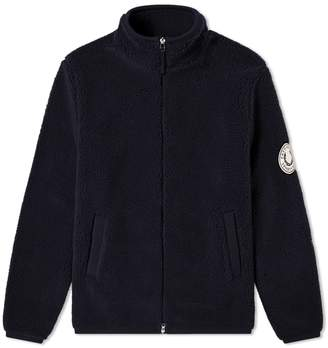 Fred Perry Authentic Borg Zip Through Fleece Jacket
