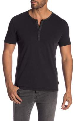 John Varvatos Short Sleeve Henley