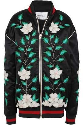 Antik Batik Embroidered Woven Bomber Jacket