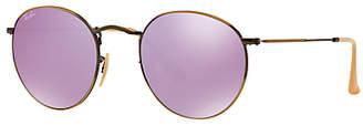 Ray-Ban RB3447 Round Flash Sunglasses