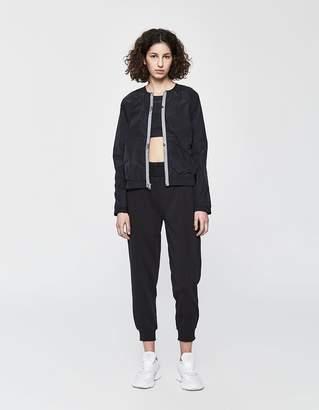 adidas by Stella McCartney Bomber Jacket in Black