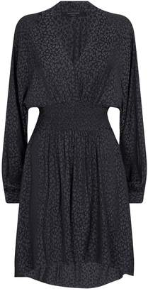 AllSaints Anya Feline Shirt Dress