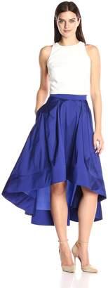 Aidan Mattox Women's Taffeta Two Piece Dress