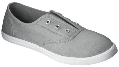 Mossimo Women's Luliani Canvas Shoes - Gray