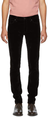 HUGO Black Velvet Trousers