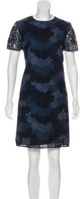 Burberry Lace Knee-Length Dress