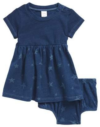 Nordstrom Star Print Knit Dress