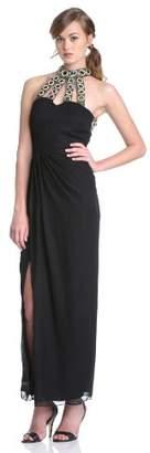 Virgos Lounge Women's Tina Jewelled Caged Maxi Dress
