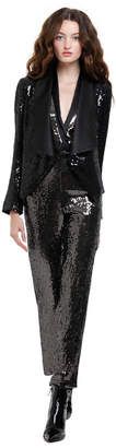 Alice + Olivia Warren Sequin Short Blazer
