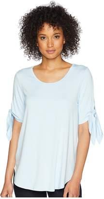 Karen Kane Short Sleeve Knot Tee Women's T Shirt
