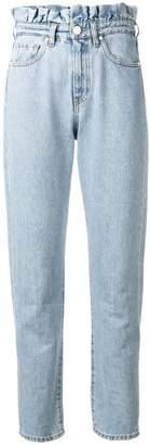 Pinko high-waist straight jeans