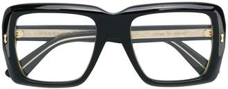 Gucci transparent glasses