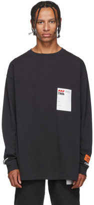 Heron Preston Black Style Dots T-Shirt