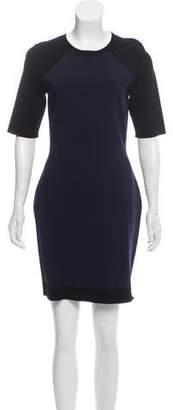 Diane von Furstenberg Bodycon Mini Dress w/ Tags