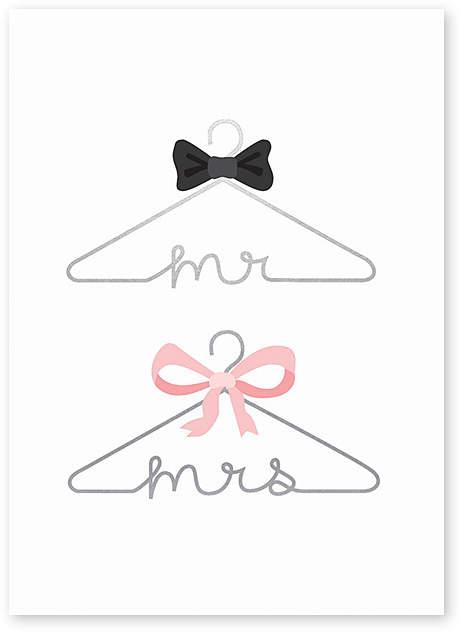 Wedding Hangers Greeting Card – Set of Six