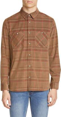 A.P.C. Toundra Plaid Corduroy Shirt