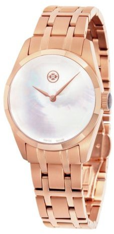 Evisu Women's EV-8001-22 Minako Rose Gold-Tone Stainless Steel Swiss Watch