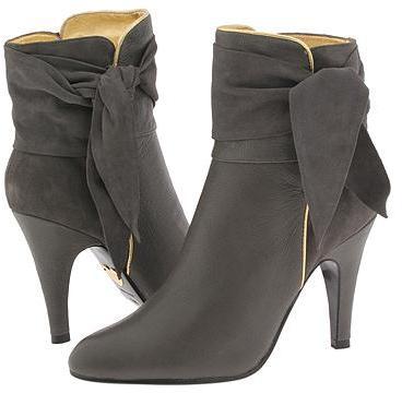 Betsey Johnson Nott Grey Suede - Footwear