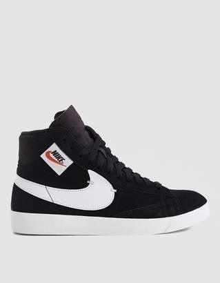 Nike W Blazer Mid Rebel Sneaker in Black