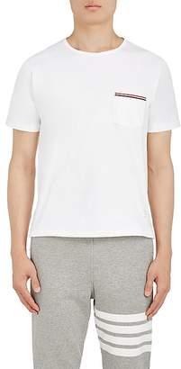 Thom Browne Men's Cotton Jersey Pocket T-Shirt