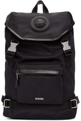 Versus Black Lion Head Backpack