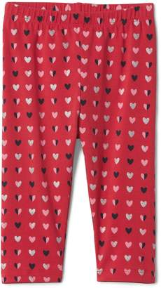 Gap Heart graphic stretch jersey leggings