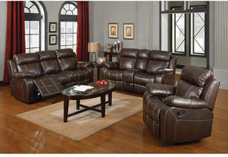 Co Darby Home Chestnut Reclining Configurable Living Room Set