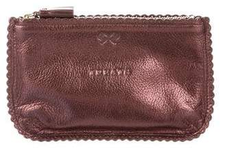 Anya Hindmarch Coffee Coins Leather Pouch