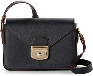 Longchamp Black Le Pliage Heritage Leather Crossbody 6050dc536eda9