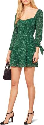 Reformation Beatrice Fit & Flare Dress