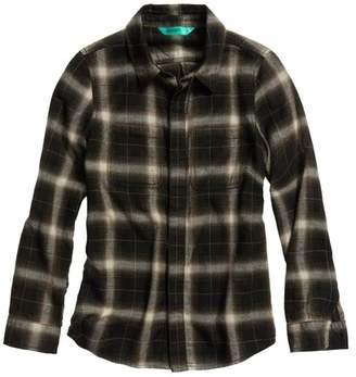 Treasure & Bond Bleached Button Front Shirt (Big Boys)