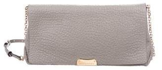 Burberry Pebbled Leather Madison Clutch