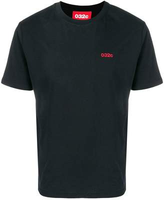 032c embroidered logo T-shirt