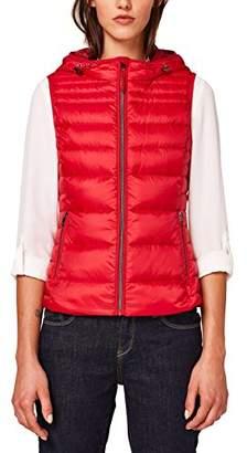 Esprit Women's 078ee1h001 Outdoor Gilet (Red 630), X
