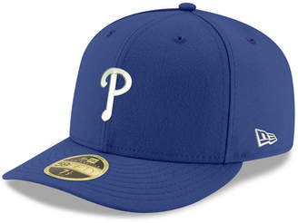 New Era Philadelphia Phillies Low Profile C-dub 59FIFTY Fitted Cap