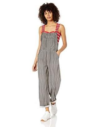 Billabong Women's Wild Lengths Pant, Black/White, M