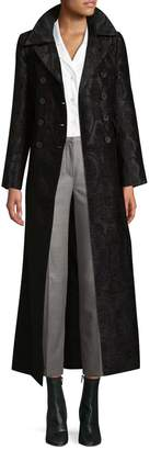 Jill Stuart Women's Floral Trench Coat