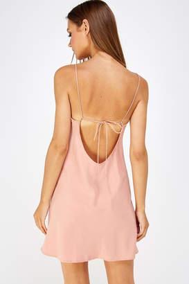 Cotton Candy Backless Mini Dress