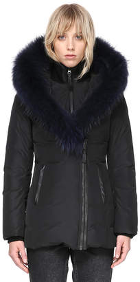 Mackage ADALI-F FITTED WINTER DOWN COAT WITH FUR HOOD