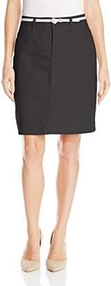 Lee Indigo Women's Denim Skirt with Belt