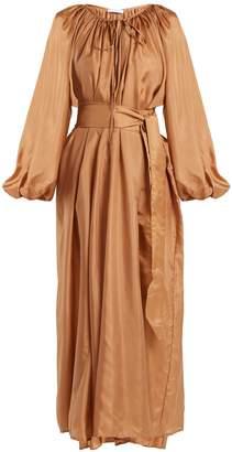 KALITA Andromeda silk maxi dress