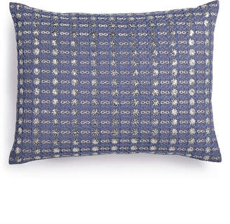 "Calvin Klein Metallic Stitched 12"" x 16"" Decorative Pillow Bedding"