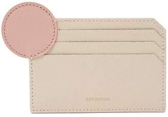 Roksanda Dot bi-colour leather cardholder